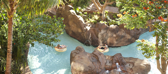 Waikolohe Stream at Aulani, a Disney Resort &#038; Spa in Hawai`i