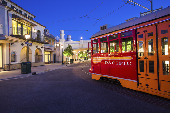 Buena Vista Street at Disney California Adventure Park