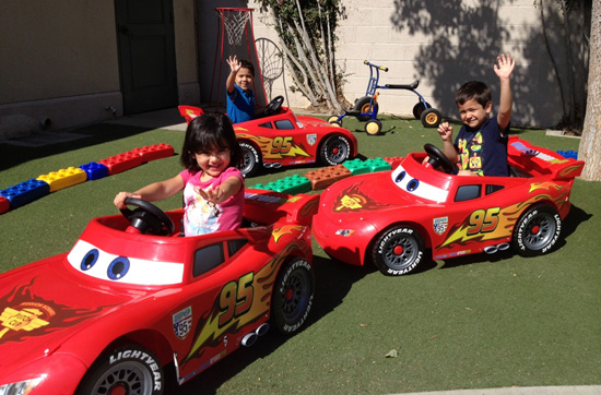 Disneyland Resort Donates Lightning McQueen Power Wheels to Local Nonprofits