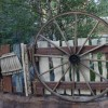 The Fence around Maurice's Cottage in New Fantasyland at Magic Kingdom Park
