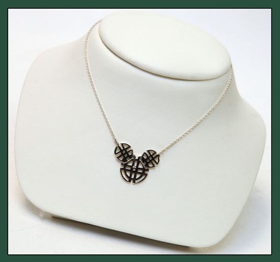 A Celtic Mickey Mouse Necklace Coming to the United Kingdom Pavilion at Epcot