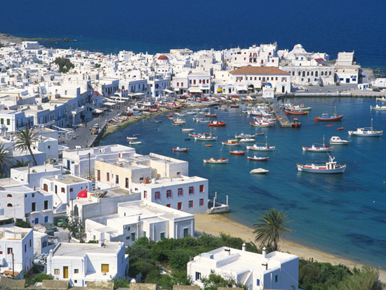 Visit Mykonos, Greece, Aboard a Disney Cruise Line Ship