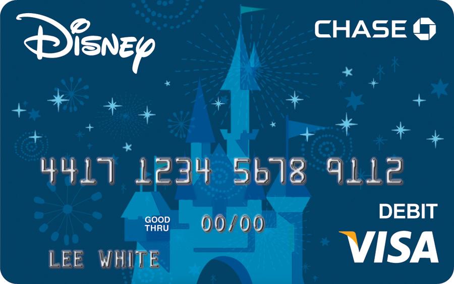 Disney Visa Debit Card Designs