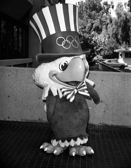 Sam the Eagle, the Mascot for the 1984 Los Angeles Games, Created by Disney Legend Bob Moore