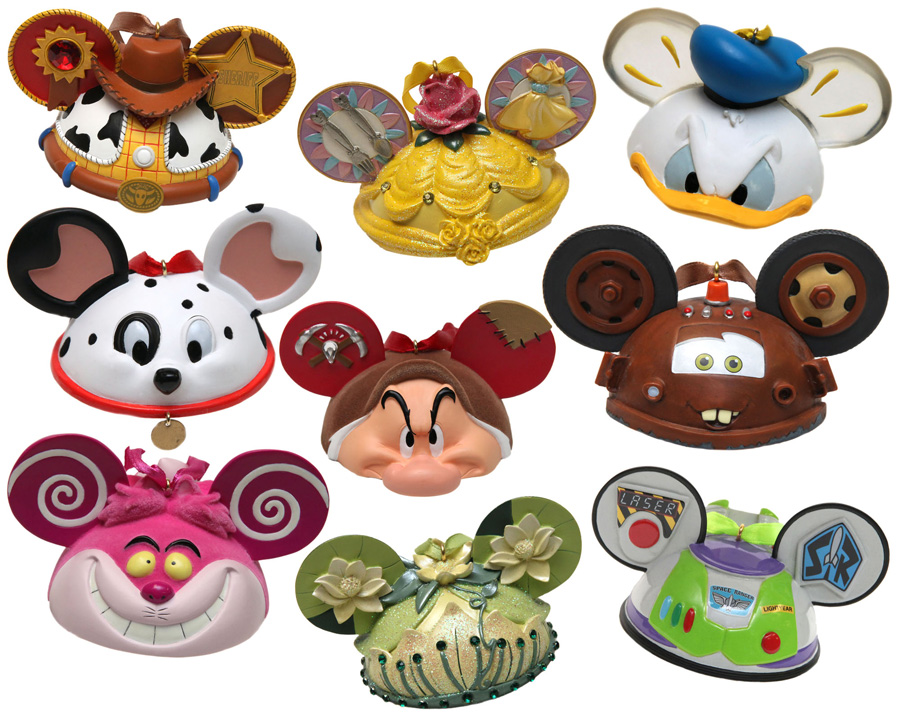 Ear hat ornament collection expands as summer heats up at disney parks