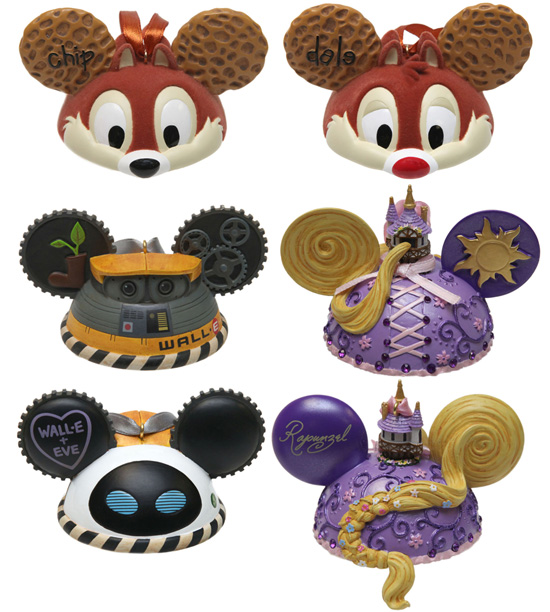 New Ear Hat Ornaments Coming to Disney Parks