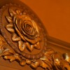 An Enchanted Rose Detail at Be Our Guest Restaurant in New Fantasyland at Magic Kingdom Park
