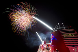 Fireworks on the High Seas with Disney Cruise Line
