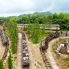Big Grizzly Mountain Runaway Mine Cars at Grizzly Gulch in Hong Kong Disneyland