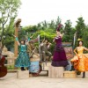 The Grizzly Gulch Welcome Wagon Show in Hong Kong Disneyland