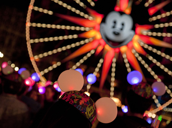 'Glow With the Show' Ears at Disney California Adventure Park