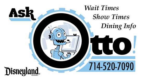 Ask Otto! is a Voice-Based Guest Service Designed to Answer Frequently Asked In-Park Questions