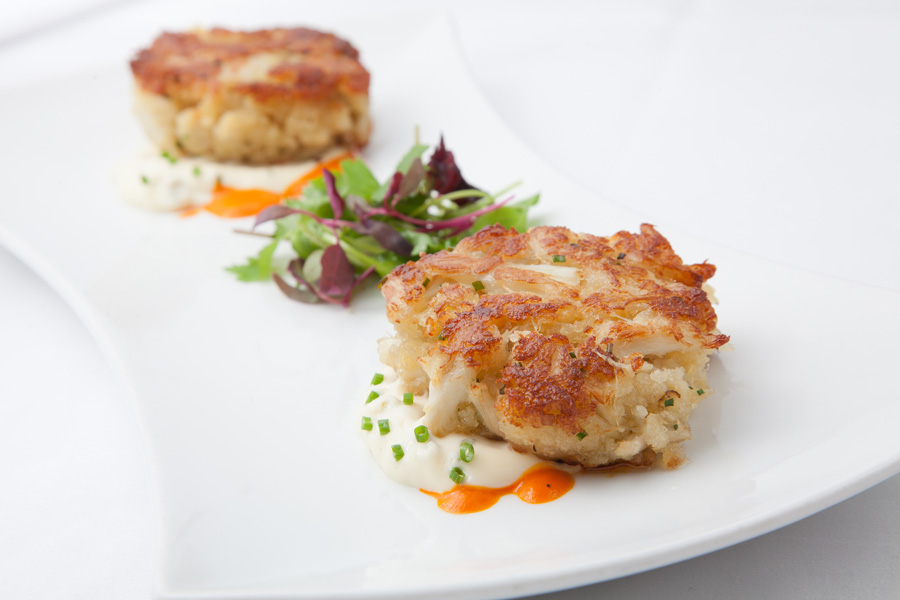 Crab Cakes And Risotto