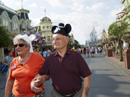 A Magical Fourth of July for a WWII Purple Heart Recipient at Magic Kingdom Park