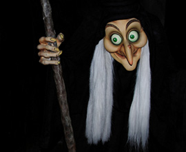 The Wicked Witch from Snow Whites Adventures, Voiced by Disney Legend Ginny Tyler