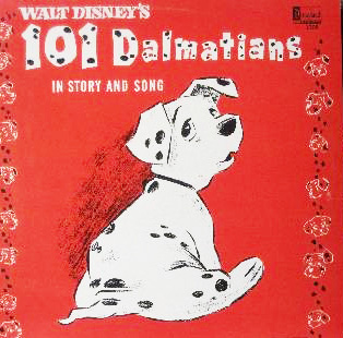 The Storyteller Album of '101 Dalmatians,' Narrated by Disney Legend Ginny Tyler