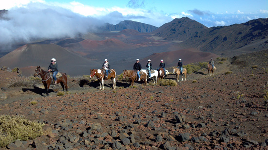 Visit Haleakal Crater by Horseback on a Disney Cruise to Hawai'i