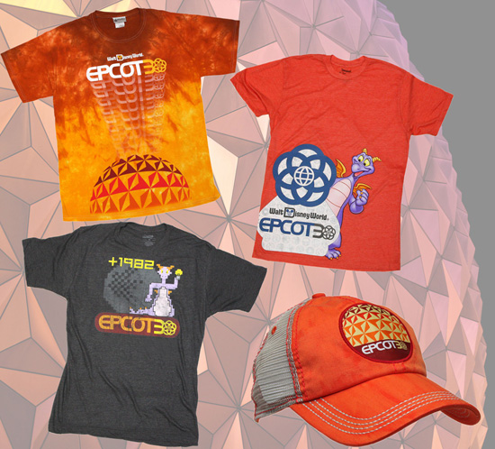 Upcoming Merchandise Celebrating the 30th Anniversary of Epcot