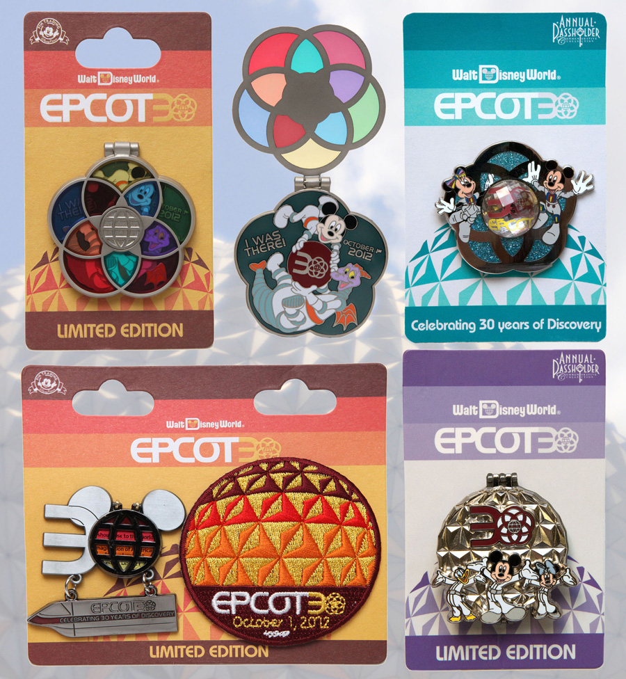 Upcoming Pins Celebrating The 30th Anniversary Of Epcot