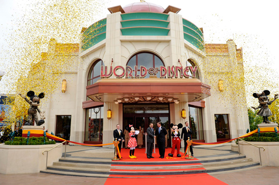 World of Disney Comes to Disney Village at Disneyland Paris