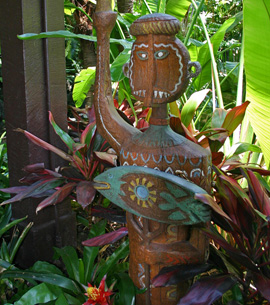 The Entrance to Disney's Polynesian Resort at Walt Disney World Resort