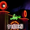 Disney Parks After Dark:  Cars Land in Disney California Adventure Park