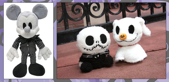 Plush Inspired by 'Tim Burton's The Nightmare Before Christmas' Available at Disney Parks