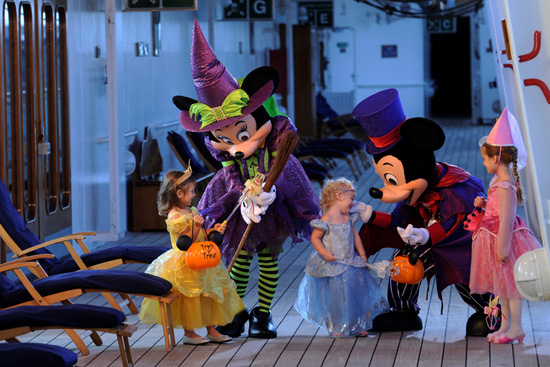 Celebrating Halloween on a Disney Cruise