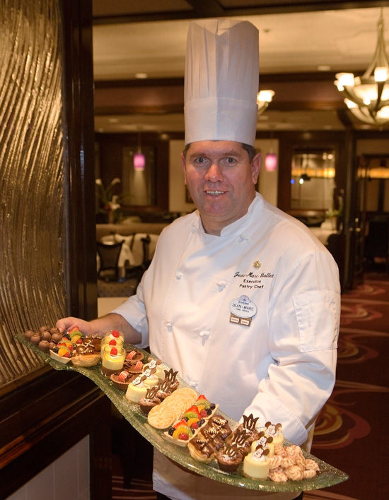 Disneyland Resort Executive Pastry Chef Jean-Marc Viallet