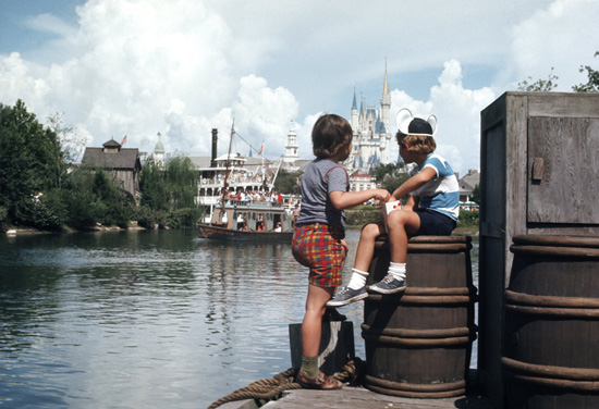 Caption This: A Day on the Dock at Magic Kingdom Park