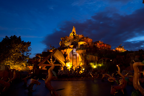 Disney Parks After Dark: The Big Drop at Splash Mountain at Magic Kingdom Park