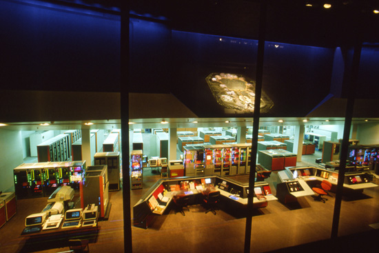Epcot Computer Central in CommuniCore at Epcot in the 1980s