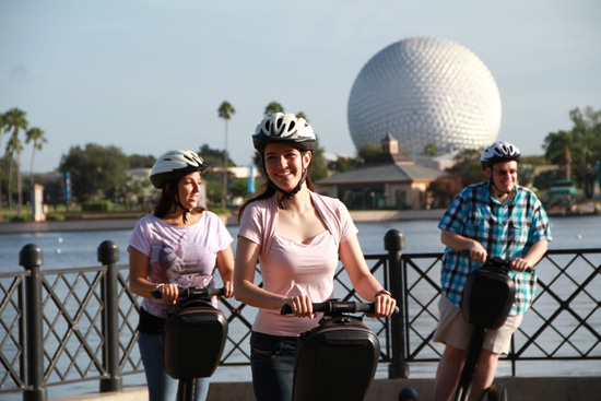 'Keep Moving Forward' Epcot Segway Tour & Breakfast Debuts September 17