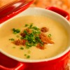 Try the Cheddar Cheese Soup at the Epcot International Food & Wine Festival at Walt Disney World Resort