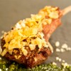 Try the Grilled Lamb Chop with Mint Pesto and Potato Crunchies at the International Food & Wine Festival at Walt Disney World Resort