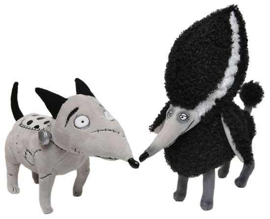 Frankenweenie Plush Coming to Disney California Adventure Park, Featuring Sparky and Persephone