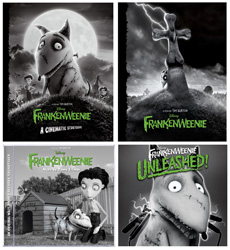 Frankenweenie Books and CDs Coming to Disney California Adventure Park, Including 'Frankenweenie Unleashed'