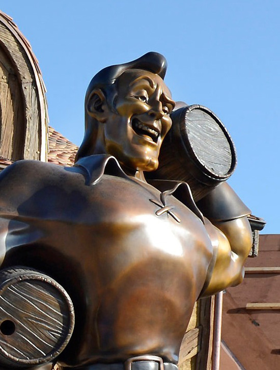 A New Fantasyland Milestone: Gaston Arrives in Belle's Village at Magic Kingdom Park