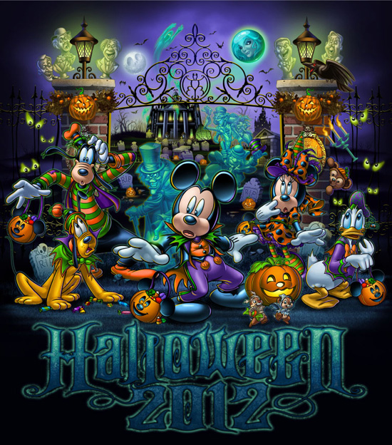 Hauntingly Fun Halloween Merchandise Features the Haunted Mansion at Disney Parks