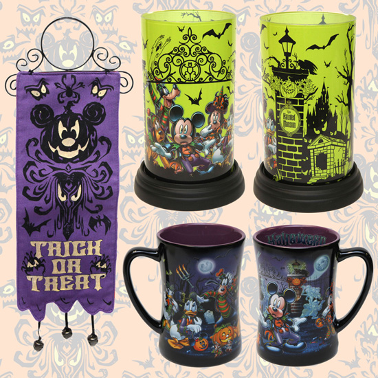 Mugs and Other Halloween Merchandise Coming to Disney Parks