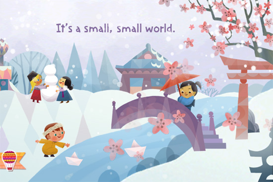 Disney's 'it's a small world' Storybook App Updated With More Languages