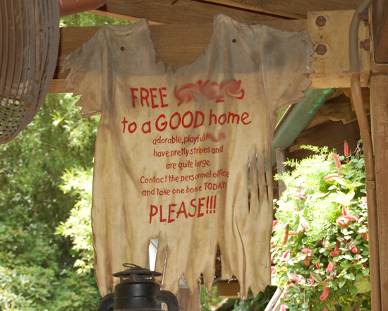 Can You Finish This Sign from Jungle Cruise at Magic Kingdom Park?