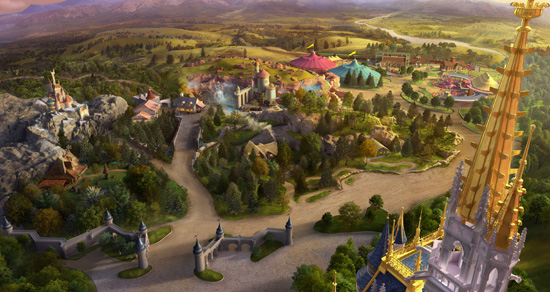 New Signature Images Released of New Fantasyland at Magic Kingdom Park