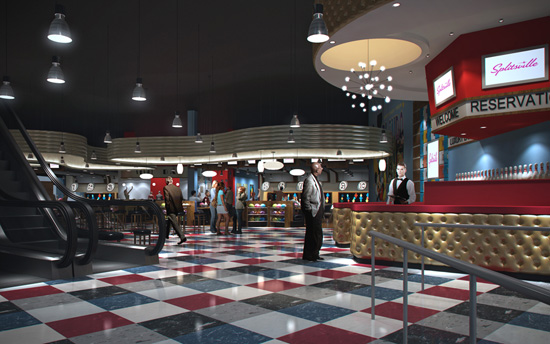 First Look: Peek Inside Splitsville, Coming Soon to Downtown Disney at Walt Disney World Resort