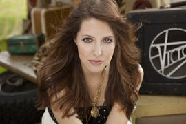 Francesca Battistelli, One of the Artists Performing at Night of Joy 2012 at Magic Kingdom Park