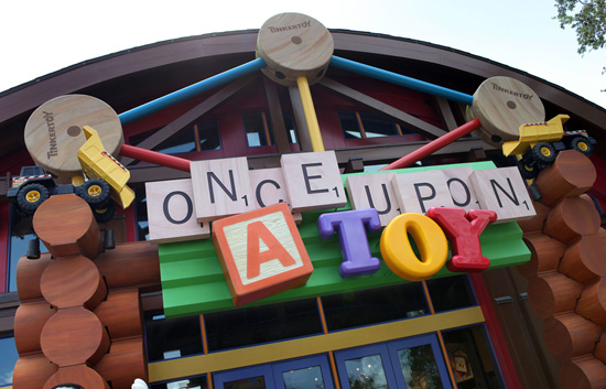 Ten Years of Toys and More at Once Upon A Toy in Downtown Disney Marketplace at Walt Disney World Resort