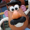 Mr. Potato Head Outside Once Upon A Toy in Downtown Disney Marketplace at Walt Disney World Resort