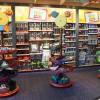 A Toy Story Display at Once Upon A Toy in Downtown Disney Marketplace at Walt Disney World Resort