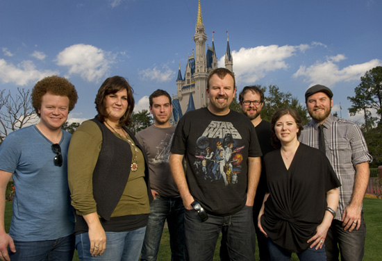 Casting Crowns, One of the Bands Performing at Night of Joy 2012 at Magic Kingdom Park