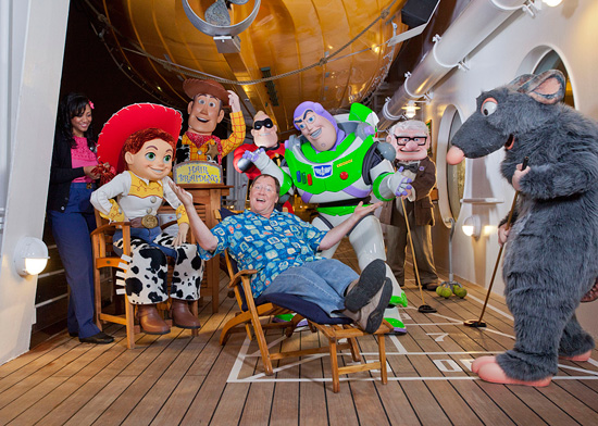 Disney Parks Blog Exclusive: Pixar Presenters on California Coastal Disney Cruises